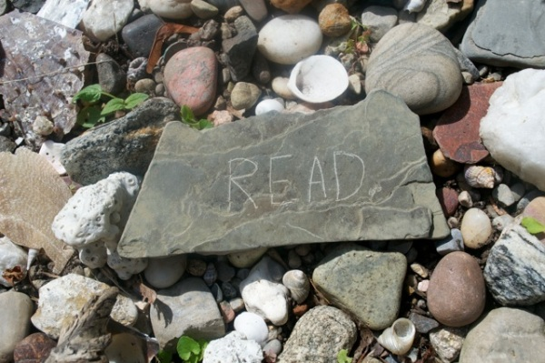 Read Rock Keuka Lake