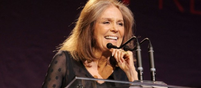 Gloria Steinem is the bomb